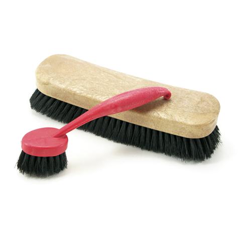 Cepillo zapatos oscuro