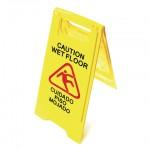 Cuidado piso mojado
