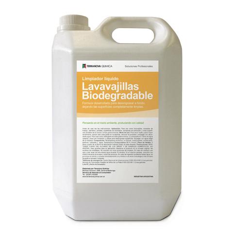 Lavavajillas Biodegradable