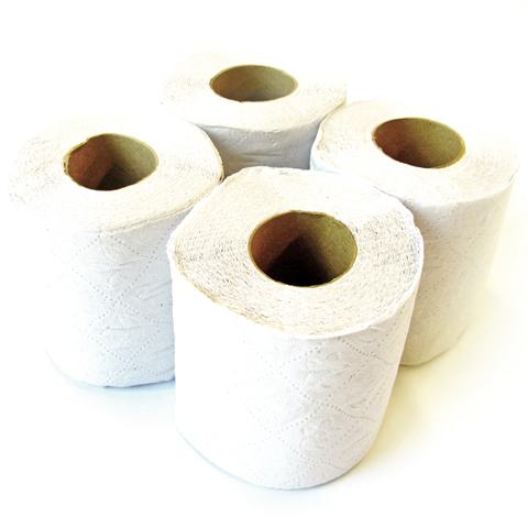Papel higienico 4 Blanco