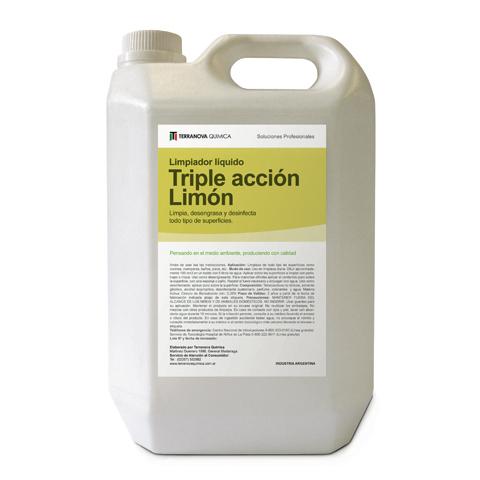 Triple acción Limón