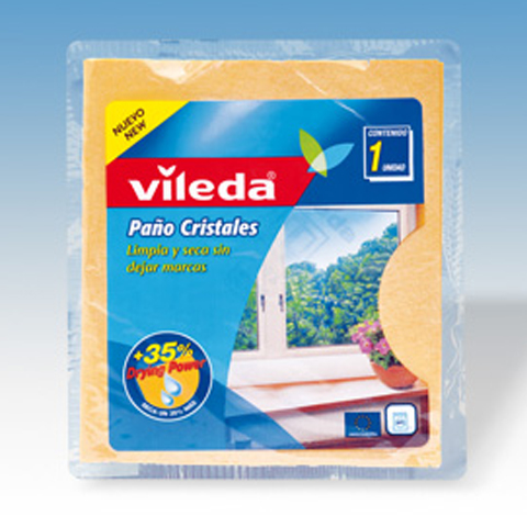 Vileda Paño Seca Vidrios